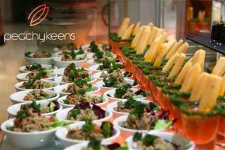 Peachy Keens - All You Can Eat International Buffet For Two With Drinks - Save 50%