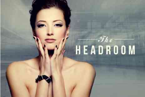 The Headroom - Deluxe Manicure and Facial - Save 24%