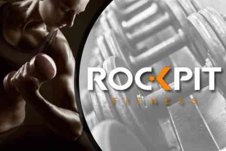 Rockpit Fitness - Ten Gym Passes - Save 78%