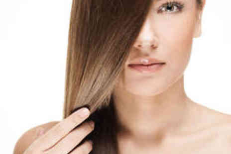 Compton Hair and Beauty - Brazilian Blow Dry or Newborn Hair Repair System - Save 55%