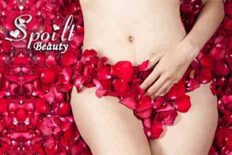 Spoilt Beauty - Waxing Bikini and Half Legs Plus Small Area - Save 57%