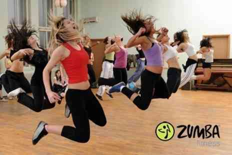 Zumba Fitness - Five One Hour Classes - Save 50%