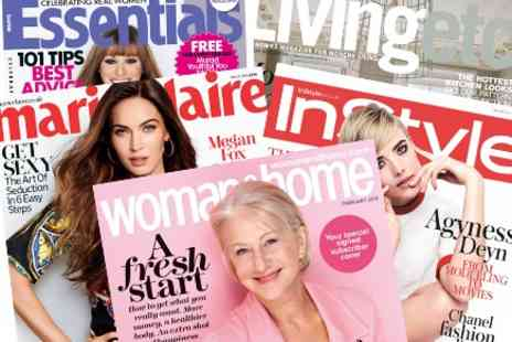 IPCmagazine - One Year Magazine Subscription includes Marie Claire, InStyle, Essentials, Woman & Home - Save 68%