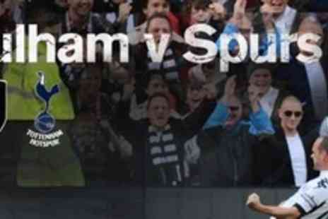 Fulham Football Club - Two Tickets To Watch Fulham FC Vs Tottenham Hotspur - Save 50%