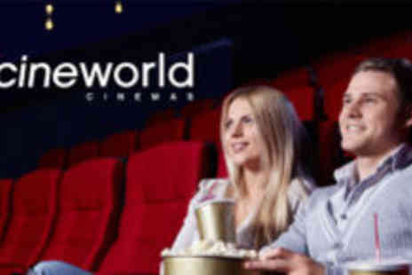Cineworld - Two Cineworld tickets a month for three months - Save 51%