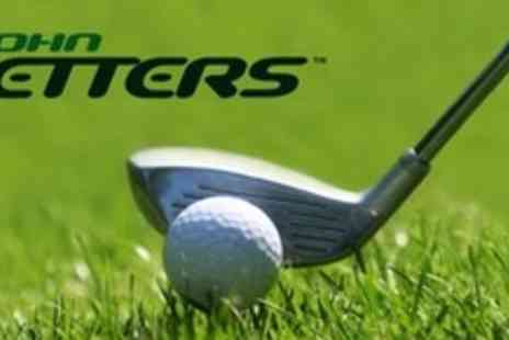 John Letters Golf Academy - One Hour Golf Assessment With Video Analysis - Save 68%