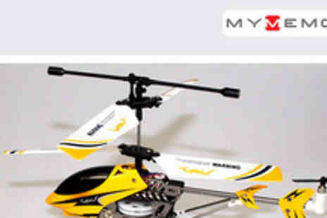 MyMemory Ltd - State of the art Remote Controlled Helicopter Gyro Lite for only £19.99 (usually £39.99) - Save 50%