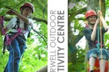 Marwell Activity Centre - Aerial Adventure Course Experience For Two - Save 63%