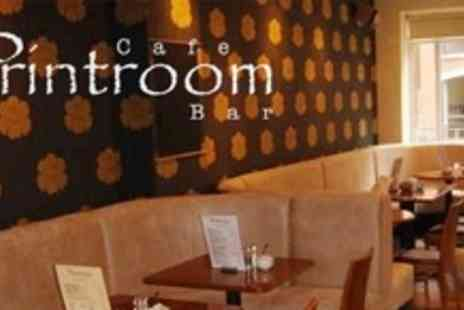 The Printroom - Two Course Modern European Meal For Two - Save 61%