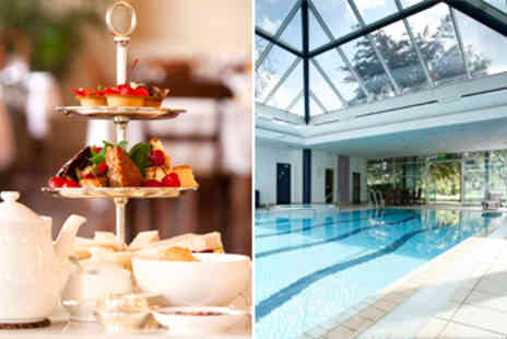 Doubletree by Hilton - Riverside Champagne Afternoon Tea & Spa Package for 2 - Save 42%