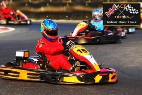 Ace Karting Plus - Go Karting Race For One - Save 57%