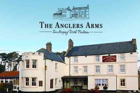 The Anglers Arms - In Northumberland One Night Stay For Two With Breakfast and Wine - Save 52%