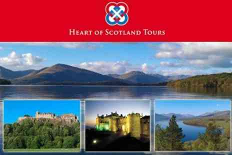 Heart of Scotland Tours - Stirling Castle and Loch Lomond - Save 53%