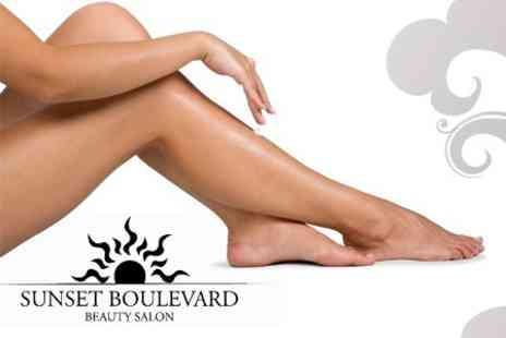 Sunset Boulevard - Six IPL Hair Removal Sessions On Choice of Areas - Save 51%