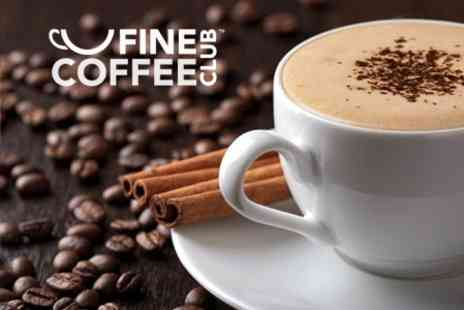Fine Coffee Club - 60 Capsules With Choice of Strength - Save 43%