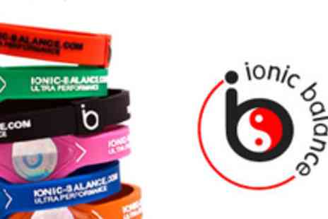 Ionic Balance - £9 for an Ionic Balance Wristband including Postage & Packaging - Save 57%