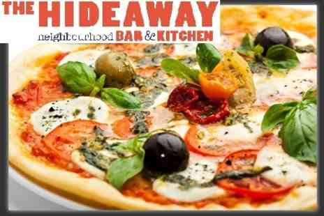 The Hideaway - £13 for Pizza and Cocktails For Two - Save 59%
