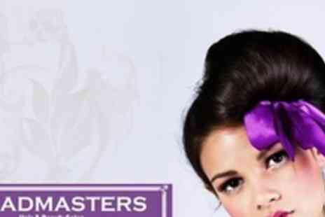 Headmasters - Individual Hairstyling Tutorial With Bun Ring - Save 68%