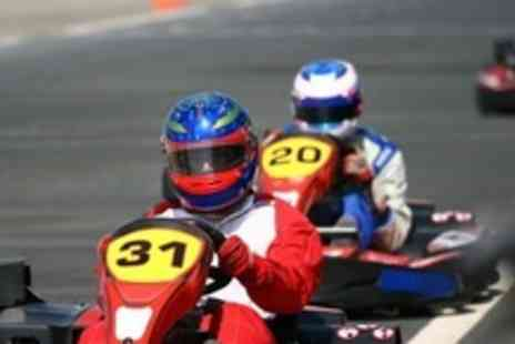 Knockhill Racing Circuit - Go Karting Endurance Race Event - Save 50%
