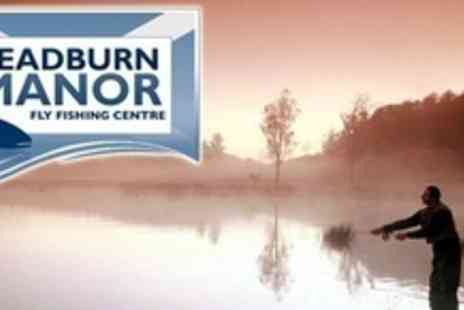 Leadburn Manor - Two Hour Fly Fishing Class and One Hour Additional Fishing Time For One - Save 74%