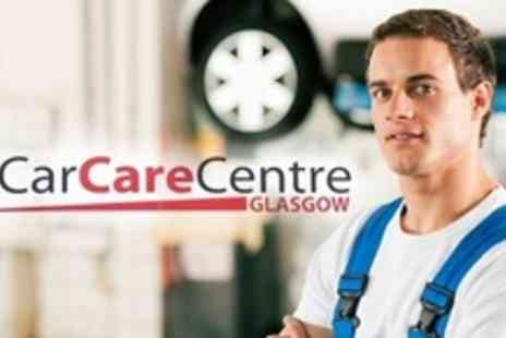 Car Care Centre Glasgow - Full Valet and Unlimited Tyre Puncture Repairs or Full Scratch Repair - Save 60%