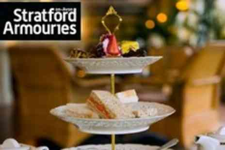 Stratford Armouries - Afternoon Tea for Four - Save 63%