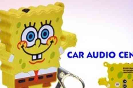 Car Audio Centre - SpongeBob SquarePants 2Gb MP3 Player Keychain - Save 50%