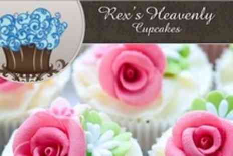 Rexs Heavenly Cupcakes - Three Hour Cupcake Decorating Course - Save 61%