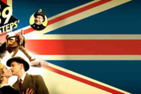 The 39 Steps - £15 for a top priced tickets - Save 70%