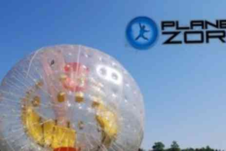 Planet Zorb - Zorbing Session For Two People - Save 62%