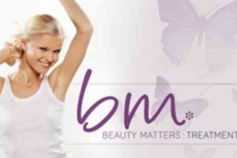 Beauty Matters - Six IPL Hair Removal Sessions - Save 90%