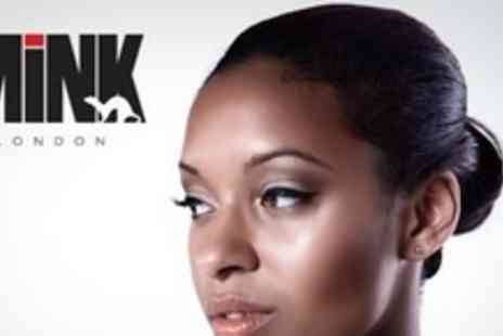 MINK London - Three Hour Make Up Class With Champagne - Save 70%