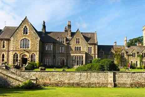 Mellington Hall Hotel - Welsh Gothic Mansion Escape with Dining - Save 53%