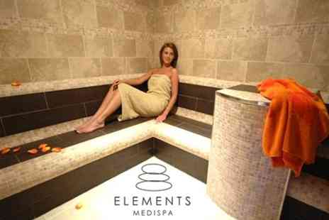 Elements MediSpa - Spa Session For Two Including Whirlpool and Glass of Bubbly - Save 55%