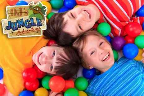 DJs Jungle Adventure - Soft Play Family Entry With Kids Meals - Save 62%