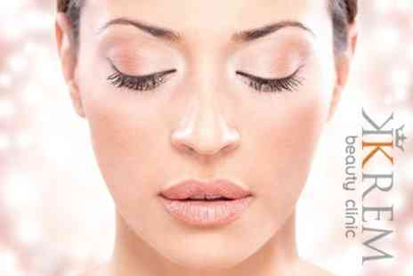 Krem Beauty Clinic - Full Set of Eyelash Extensions - Save 80%