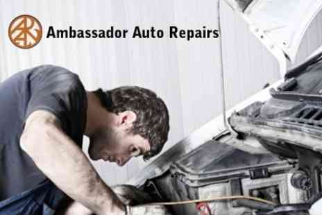 Ambassador Auto Repairs - 50 Point Car Health Check With Oil and Filter Change Plus Anti Freeze Top Up - Save 64%