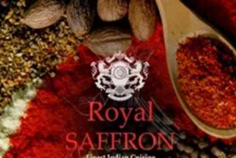 The Royal Saffron - Two Course Indian Meal For Two - Save 67%