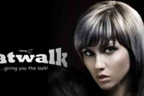 Catwalk - Full Head of Wella Highlights With Wash Cut and Finish - Save 64%