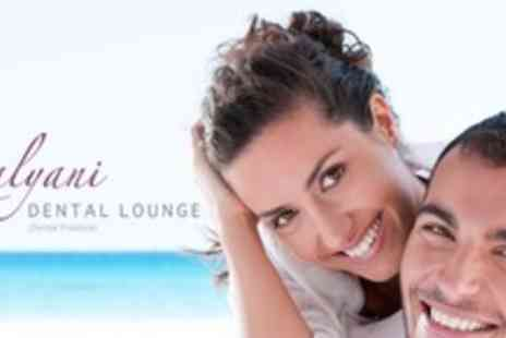Kalyani Dental Lounge - Complete Smile Makeover With Veneers or Crowns For Two Upper or Lower Teeth - Save 54%