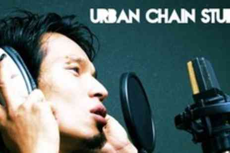 Urban Chain Studios - One Hour Professional Recording Session With Sound Engineer and Producer - Save 61%