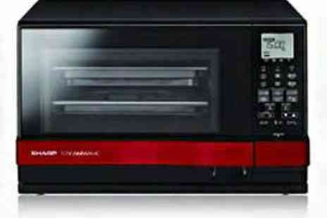 PRC Direct - Sharp AX1100RM Steam Combination Microwave Oven - Save 57%