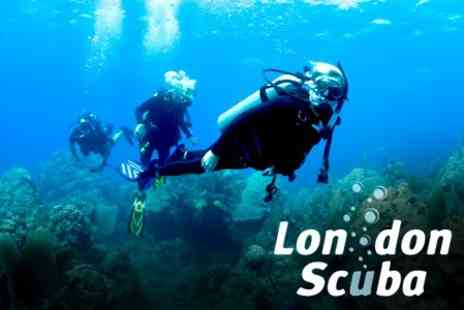 London Scuba - PADI Scuba Diving Open Water Referral Course for £79 at London Scuba (Value £249) - Save 68%