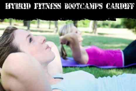 Hybrid Fitness Bootcamp - Four Day Gym Pass with Spa Access and Outdoor Boot Camp Sessions - Save 70%