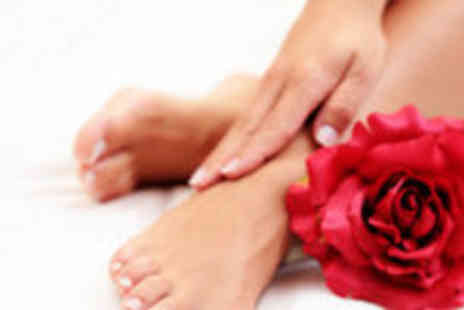 Sorayah Beauty at Hairticians - Manicure and pedicure  - Save 74%