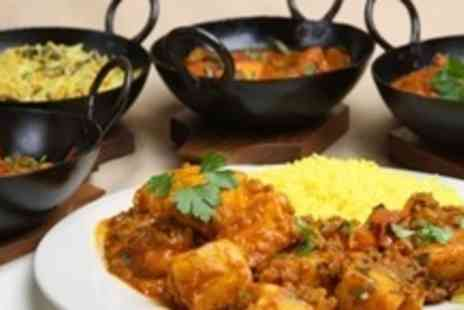 Mister Singhs - Indian Meal For Two With Glass of Wine Each - Save 59%