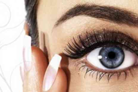 The Village Beauty Salon - Semi Permanent Nouveau Lashes Plus Brow Shape and Tint - Save 76%