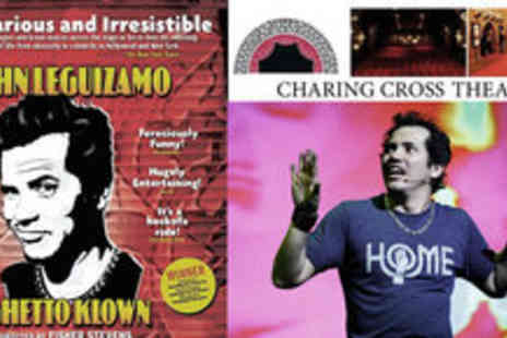 Charing Cross Theatre  - Ticket to John Leguizamos Ghetto Klown - Save 44%
