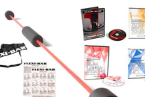 Flexi Bar - Workout Set, workout DVDs, wall charts and more - Save 62%