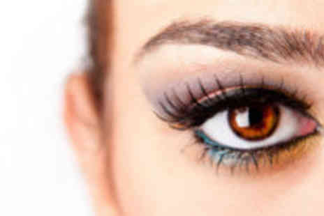 Absolute Nails And Beauty - Full set of semi permanent eyelash extensions  - Save 73%